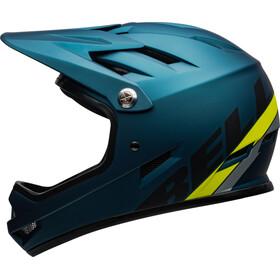 Bell Sanction Helm matte blue/hi-viz